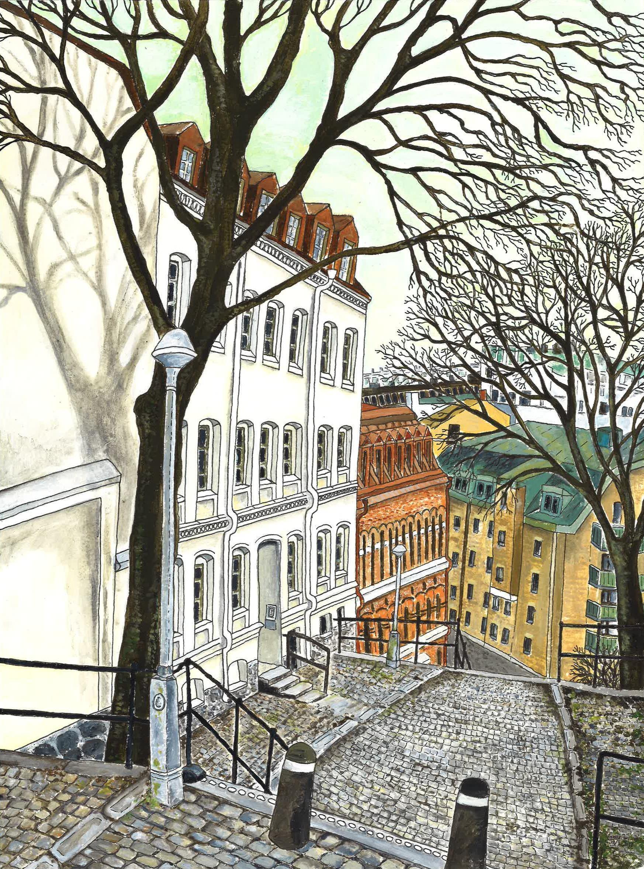 Staden, träden, trapporna.jpg